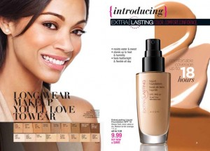 Avon EverLasting Liquid Foundation