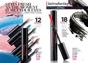 Avon Everlasting mascara everlasting eyeshadow