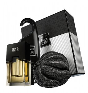 Avon Black Suede Grooming Essentials Gift Set