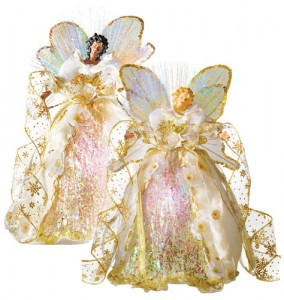 Avon Fiber Optic Angel Christmas Tree Topper