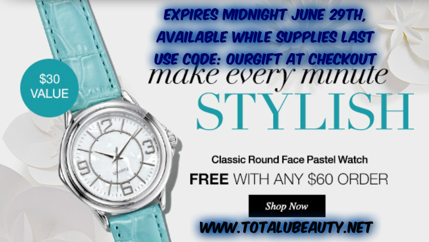 Free Avon Watch with Purchase