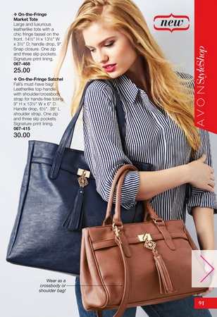 Avon Totes and Bags